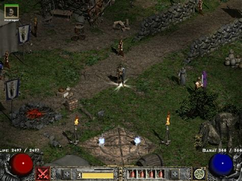 New act 1 town image - Glory of Nephilim mod for Diablo II