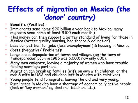PPT - Case study of international migration: PowerPoint