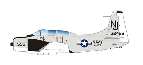 Douglas AD-5 Navy Skyraider DOUBLE KIT in 1/32 Scale