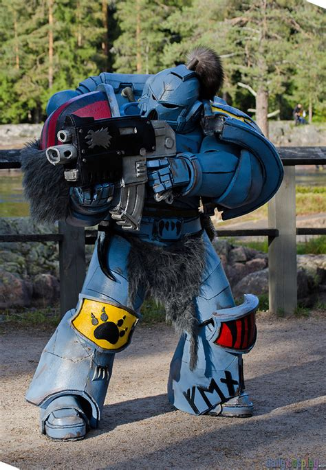 Space Wolf from Warhammer 40,000 - Daily Cosplay