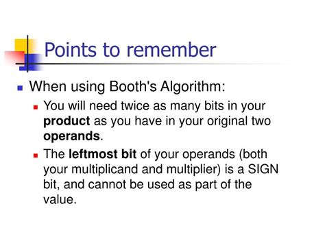 PPT - Booth's Algorithm Example PowerPoint Presentation