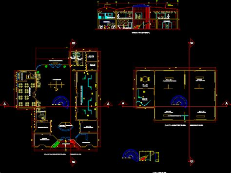 Museum of arts in AutoCAD | Download CAD free (777
