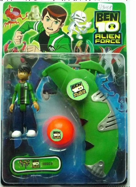China Ben 10 Doll with IC Light and Handle Launcher Action