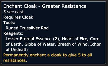 Rogue P4 & P5 Nature Resist Guide - WoW Classic Rogue