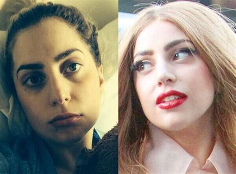 Lady Gaga from Stars Without Makeup   E! News