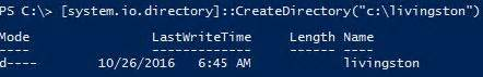 powershell - Create directory if it does not exist - Stack
