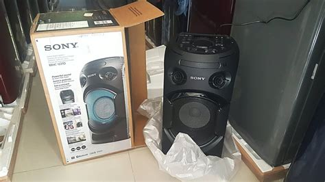Sony Home Audio System Mhc V21d