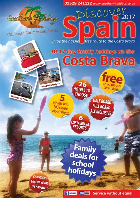 Southern holidays brochure 2017 by Southern Holidays - Issuu