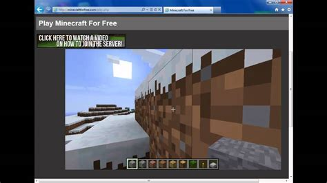 How to get or play Minecraft for free (NO DOWNLOADS) - YouTube