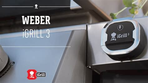 Learn all about the Weber iGrill 3 app-connected