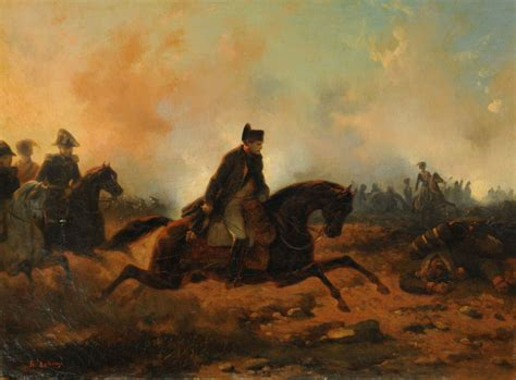 What did Napoleon say about the Battle of Waterloo