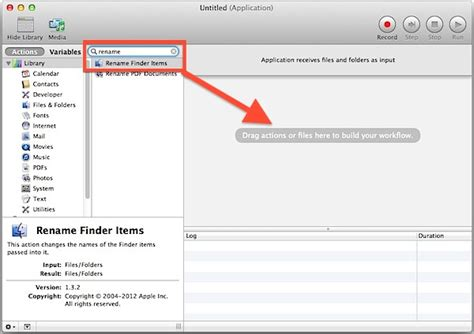 Batch Renaming Groups of Files in Mac OS X with a DIY File