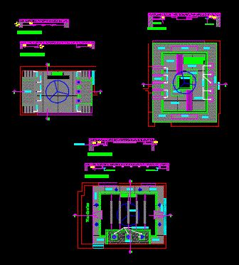 Detail false ceiling in AutoCAD | Download CAD free (54