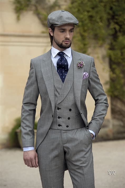Prince of Wales Short Tailed Dress for Groom